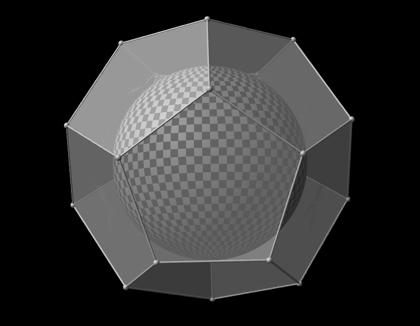 Glass Dodecahedron Gcf